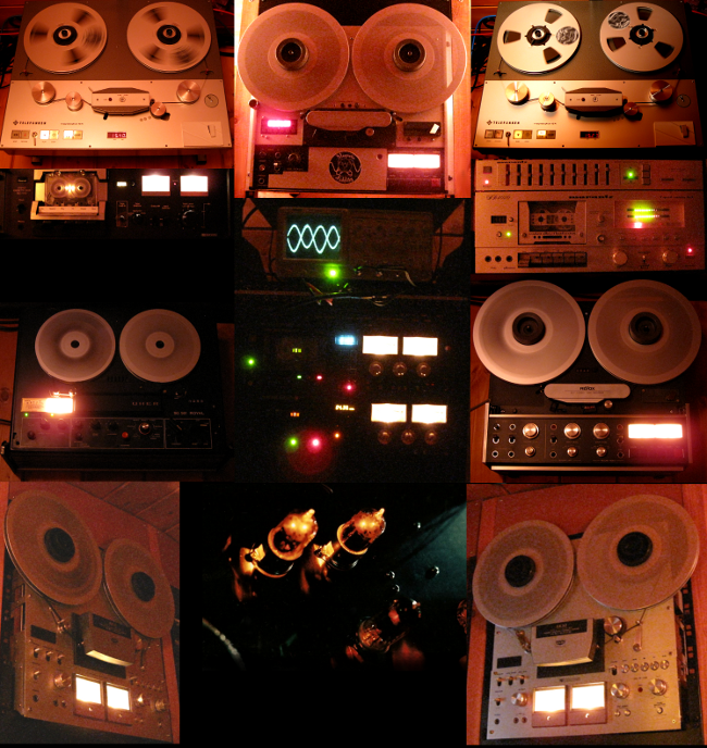 tape machines and cassette decks