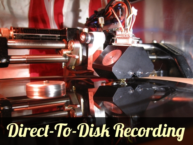 Direct-to-disk recording