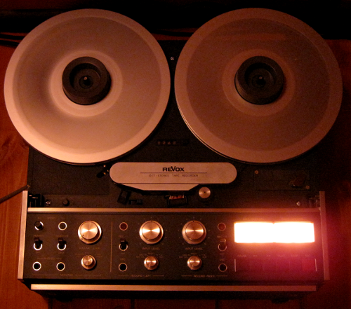 Revox PR99 tape machine