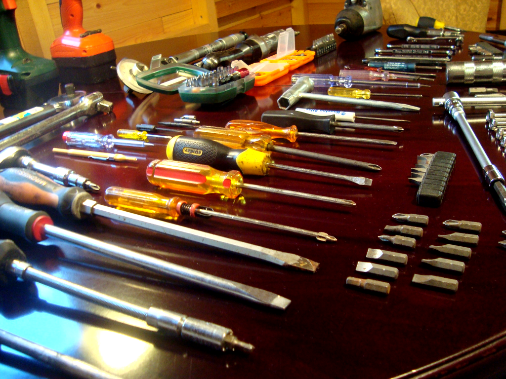Collection of screwdrivers